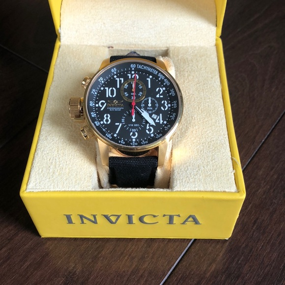 fb2ed7bfcf5 Relógio I-Force Collection Invicta 1515 – Ouro 18K ⋆ JDM Grifes
